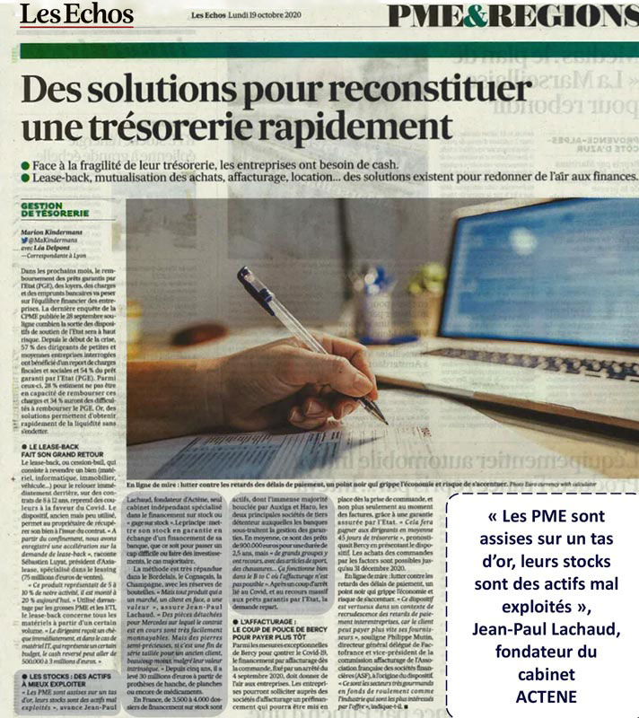 presse article ACTENE